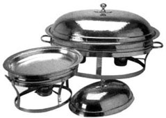 Bakır Chafing Dish - Oval